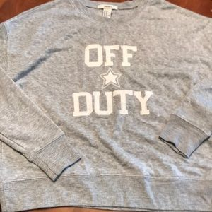 Forever 21 size small gray long sleeve